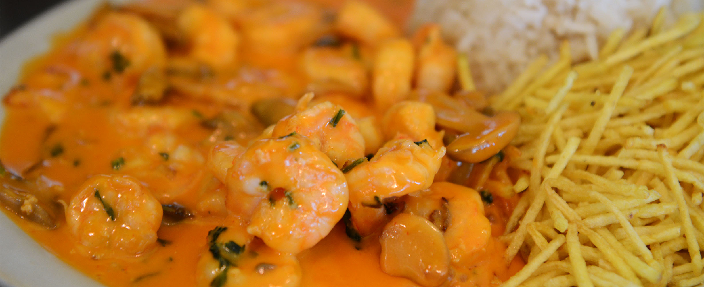 Delicious shrimps for Breakfast or Brunch!